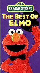 Newly listed Sesame Street   The Best of Elmo (VHS, 1994)