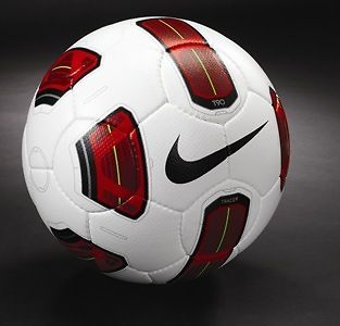 NIKE T90 TRACER OFFICIAL GAME SOCCER BALL AUTHENTIC FIFA APPROVED