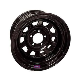 Bart Wheels D Trucker Black Steel Wheel 15x10 6x5.5 BC