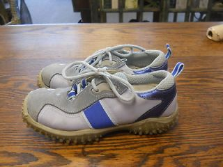 womens 2tone blue lace up steve madden shoes size 6