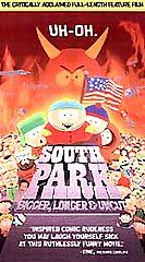 South Park Bigger, Longer Uncut VHS, 1999