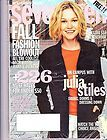 Seventeen Magazine September 2002 Julia Stiles Campus