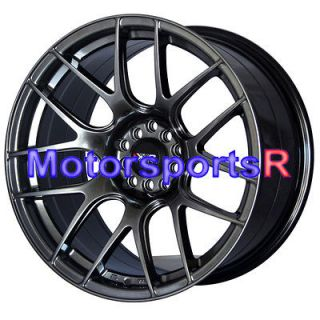 Chromium Black Concave Rims Staggered Wheels Stance 5x114.3 5x100 4.5