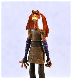 star wars jar jar binks auction figure child toy from