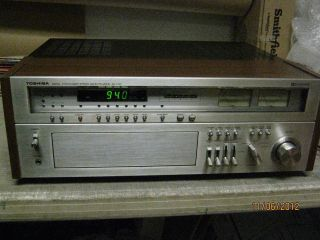 toshiba sa 7150 vintage top of the line stereo receiver