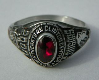 2000 NORTHEASTERN CLINTON CSD Champlain NY High School Class Ring JEN