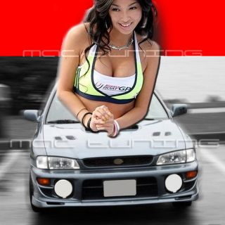 New 97 01 Subaru Impreza WRX STi PU Polyurethane Front Bumper Lip Kit