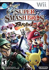 Super Smash Bros. Brawl Nintendo Wii COMPLETE Game+Case+Manual