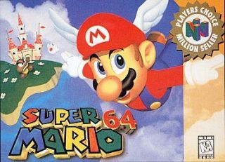 newly listed super mario 64 nintendo 64 n64 game time