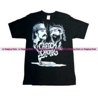 Men Funny T Shirt Cheech Chong Smokey Fading Shirt Teen Free Ship U.S