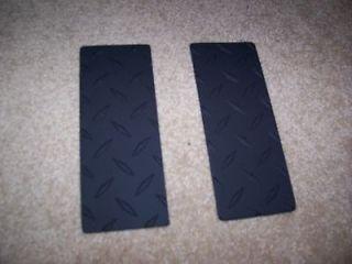 SUZUKI SAMURAI DIAMOND PLATE TARGA PANELS 86 95 Pair BLACK Aluminum SJ