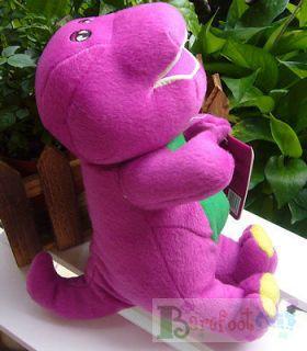 NEW COOL HAPPY BARNEY & FRIENDS Barney the Dinosaur 22CM Plush doll