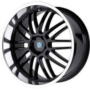 new 18x8 5 5x120 beyern mesh black wheels rims