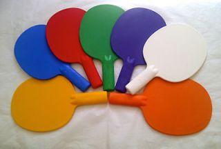 )2XRobust plastic table tennis bats/Auction/Quiz Game paddles