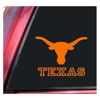 Texas Longhorns VIny Decal Sticker for Cars, Trucks, and Walls