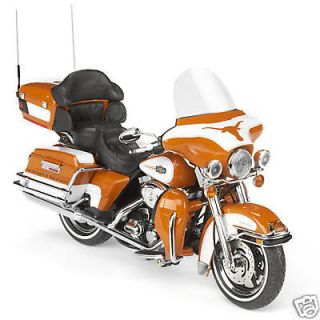texas longhorns harley davidson diecast motorcycle 1 12 time left