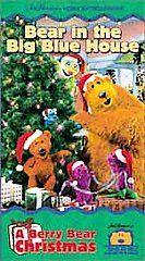 Bear in the Big Blue House   A Berry Bear Christmas VHS, 2000