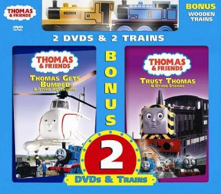 Thomas Friends Thomas Gets Bumped Trust Thomas DVD, 2007, 2 Disc Set