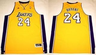 REVOLUTION 30 LOS ANGELES LAKERS KOBE BRYANT YELLOW JERSEY SZ XXL