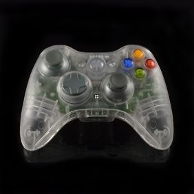 clear xbox 360 controller in Controllers & Attachments