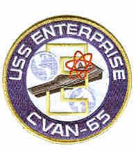 CVAN 65 USS ENTERPRISE ATTACK AIRCRAFT CARRIER NAVY SHIP SQUADRON