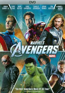 The Avengers (DVD ONLY 2012) Disney Iron Man, Hulk, Thor