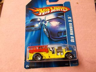 hot wheels diecast metal old fire truck old number 5