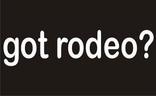 GOT RODEO? Horse Bull Cowboy Rider Clown Cattle Ranch Funny Hoodie