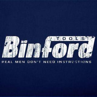 BINFORD TOOLS home improvement tool box hammer vintage funny T Shirt