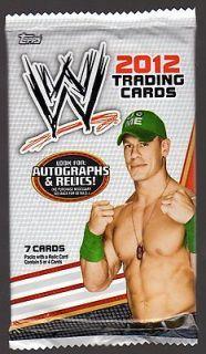 2012 Topps WWE Kiss/MatRelic/Shirt/Autograpk Hot Pack Diva? Cena