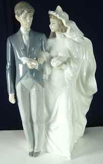 nao by lladro wedding day sculptor regino torrijos 1994 time