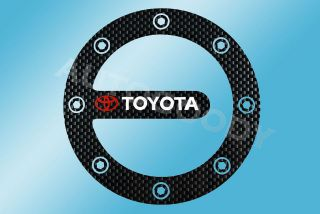 toyota fuel door sticker decal prius yaris tundra time left