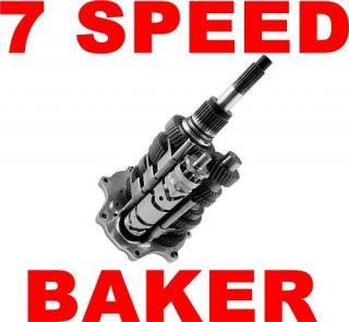 baker dd7 direct 7 speed transmission gear set harley time