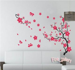 Plum Blossom Bird Removable Wall Sticker Decal Art DIY Home Decor Wall