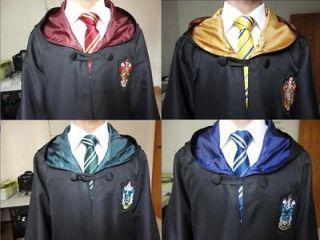 Nice Harry Potter Gryffindor Slytherin Hufflepuff Ravenclaw Cloak Robe
