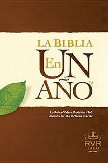 new la biblia en un ano rvr60 by tyndale hardcover