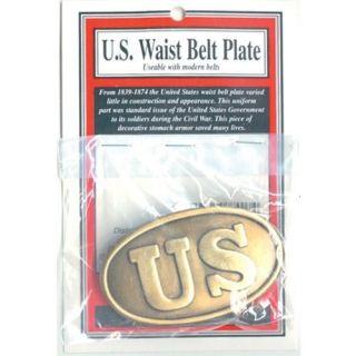 civil war united states u s union belt buckle new