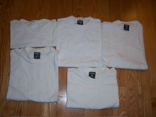 White T Shirts 5PK TEES XL Extra Large 5 Pack Bulk Pk TShirts Tee