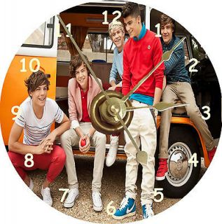 new one direction boy band van cd clock time left