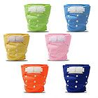 Washable One Size Adjustable Baby Cloth Diaper Nappy Velcro Closure