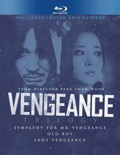 Vengeance Trilogy Blu ray Disc, 2010, 3 Disc Set, Best Buy Exclusive
