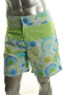 Vilebrequin NEW Mgonzale Multi Color Circle Pattern Lined Swim Trunks
