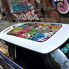 Car Sun Roof Street Art Graffit Graphic Vinyl Sticker Decal #Q02