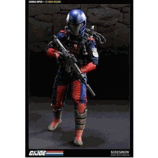 joe 12 cobra viper action figure sideshow #
