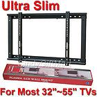 Low Profile Flat Fixed Plasma LCD LED TV Wall Mount 32