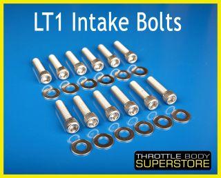 LT1 LT4 Intake Manifold Bolts Stainless 92   97 Camaro Corvette