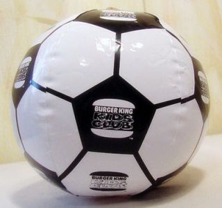 Newly listed Burger King Sports Games Inflatable Soccer Ball 1993