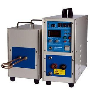 Dual Station MidFrequency Induction Heater Heating Melting Furnace