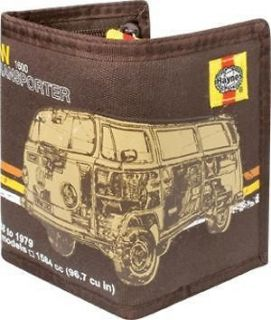 haynes vw camper van canvas money wallet from united kingdom