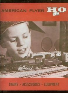 1960 american flyer trains model train catalog d2231 time left